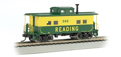 Bachmann Northeast Steel Caboose Reading #94070 -- HO Scale Model Train Freight Car -- #16807