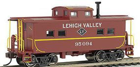 Bachmann NE Steel Caboose Lehigh Valley #95094 HO Scale Model Train Freight Car #16815