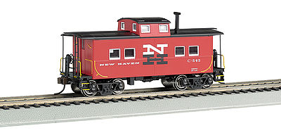 Bachmann NE Steel Caboose New Haven #C-543 HO Scale Model Train Freight Car #16820
