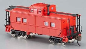Bachmann Northeast Steel Caboose Painted Unlettered N Scale Model Train Freight Car #16856