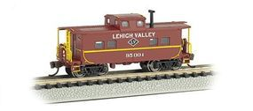 Bachmann Northeast Steel Caboose Lehigh Valley #95004 N Scale Model Train Freight Car #16858