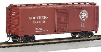 Bachmann PS1 40 Boxcar Southern HO Scale Model Train Freight Car #17004