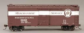 Bachmann 40 Boxcar Pennsylvania Merchandise Service HO Scale Model Train Freight Car #17014