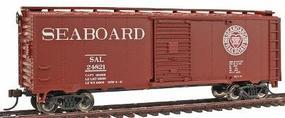 Bachmann PS1 40 Boxcar Seaboard Heart/Dixie HO Scale Model Train Freight Car #17046