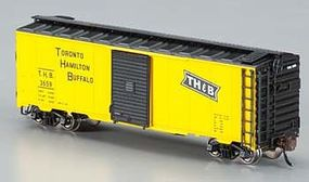 Bachmann AAR 40 Steel Box Toronto/Hamilton & Buffalo N Scale Model Train Freight Car #17055