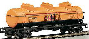 Bachmann 40 3-Dome Tank Shell #1253 HO Scale Model Train Freight Car #17101