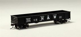 Bachmann 40 Gondola Norfolk & Western HO Scale Model Train Freight Car #17228