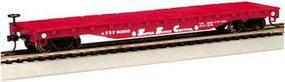 Bachmann Flatcar Santa Fe HO Scale Model Train Freight Car #17302