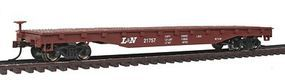Bachmann 52 Flat Car Louisville & Nashville HO Scale Model Train Freight Car #17315