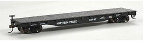 Bachmann Flatcar Northern Pacific HO Scale Model Train Freight Car #17333