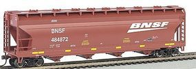 Bachmann ACF 56' Center-Flow Hopper BNSF HO Scale Model Train Freight Car #17505