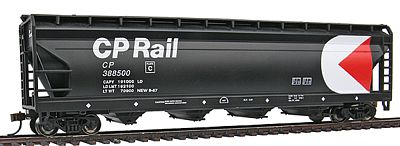 Bachmann 56' SCF Center Flow Hopper CP Rail -- HO Scale Model Train Freight Car -- #17529
