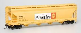 Bachmann 56 Center Flow Hopper Shell SCPX HO Scale Model Train Freight Car #17534
