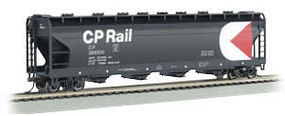 Bachmann 56 4-Bay Center Flow Hopper Canadian Pacific N Scale Model Train Passenger Car #17555