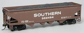 Bachmann 40' Quad Hopper Southern HO Scale Model Train Freight Car #17604