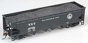 Bachmann 40 Quad Hopper B&O HO Scale Model Train Freight Car #17612