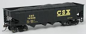 Bachmann 40 Quad Hopper CSX HO Scale Model Train Freight Car #17618