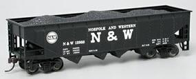 Bachmann 40' Quad Hopper Norfolk & Western #12988 HO Scale Model Train Freight Car #17642