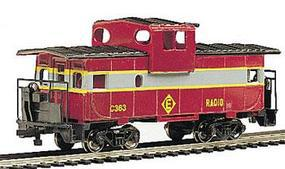 Bachmann 36' Wide Vision Caboose Erie Lackawanna HO Scale Model Train Freight Car #17728