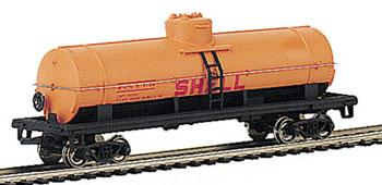 Bachmann 40 Single Dome Tank Car Shell HO Scale Model Train Freight Car #17834