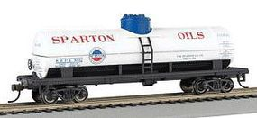 Bachmann 40 Single-Dome Tank Car Sparton Oil Company HO Scale Model Train Freight Car #17848