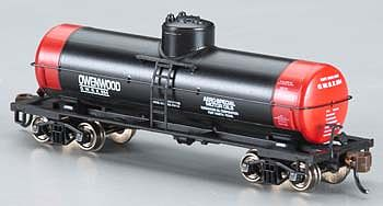 Bachmann ACF 36'6 10K Tank Owenwood Motor Oil -- N Scale Model Train Freight Car -- #17851