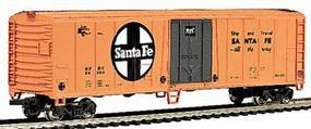 Bachmann 50 Steel Reefer Santa Fe HO Scale Model Train Freight Car #17902