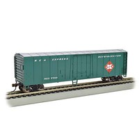 Bachmann 50 Steel Reefer REA HO Scale Model Train Freight Car #17904