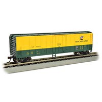 50' Steel Reefer Chicago & North Western HO Scale Model Train Freight Car #17905