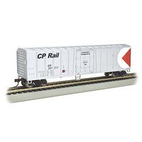 Bachmann 50 Steel Reefer Canadian Pacific HO Scale Model Train Freight Car #17906