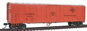 Bachmann 50 Steel Reefer Milwaukee Road HO Scale Model Train Freight Car #17917