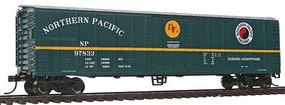 Bachmann 50 Steel Reefer Northern Pacific HO Scale Model Train Freight Car #17935
