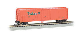 Bachmann Tropicana Orange 50 Steel Reefer (#250) HO Scale Model Train Freight Car #17946