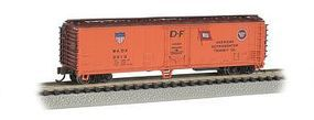 Bachmann ACF 50' Steel Reefer Amer Refrig Transit Co. N Scale Model Train Freight Car #17955