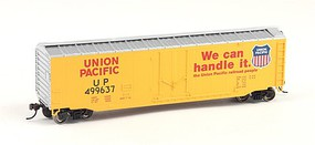 Bachmann 50 PD Boxcar UP HO Scale Model Train Freight Car #18005