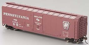 Bachmann 50 Plug Door Boxcar Pennsylvania RR HO Scale Model Train Freight Car #18014