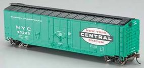 Bachmann 50 Plug Door Boxcar New York Central HO Scale Model Train Freight Car #18020