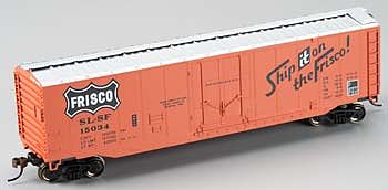 Bachmann 50 Plug-Door Boxcar St. Louis - San Francisco HO Scale Model Train Freight Car #18025