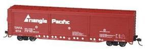 Bachmann Evans All-Door Boxcar Triangle Pacific #5114 HO Scale Model Train Freight Car #18138