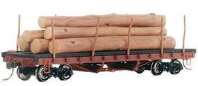 Bachmann Skeleton Log Car HO Scale Model Train Freight Car #18332