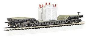 Bachmann 52 Flatcar w/Transformer HO Scale Model Train Freight Car #18348