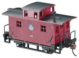 Bachmann Bobber Caboose Union Pacific HO Scale Model Train Freight Car #18401