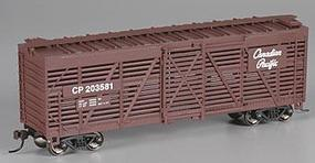 Bachmann 40 Stock Car Canadian Pacific HO Scale Model Train Freight Car #18524