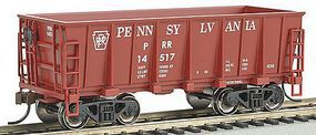 Bachmann Ore Car Pennsy #14517 Tuscan Red HO Scale Model Train Freight Car #18605