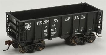 Bachmann Ore Car Pennsylvania -- HO Scale Model Train Freight Car -- #18614