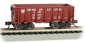 Bachmann Ore Car PRR Tuscan Red - N-Scale