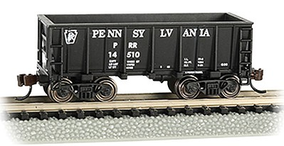 Bachmann N Ore Car, PRR/Black