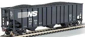 Bachmann 100 ton 3-Bay Hopper Norfolk Southern #144920 HO Scale Model Train Freight Car #18709