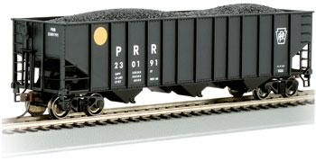 Bachmann Bethlehem Steel 3-Bay 100-Ton Open Hopper Pennsylvania -- HO Scale Model Train Freight Car -- #18714