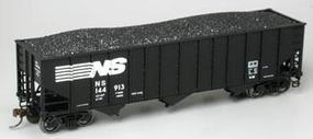 Bachmann SS 3-Bay 100 Ton Hopper Norfolk & Southern HO Scale Model Train Freight Car #18741